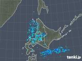 2018年12月19日の北海道地方の雨雲の動き