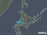 2018年12月20日の北海道地方の雨雲の動き