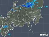 2018年12月20日の関東・甲信地方の雨雲の動き