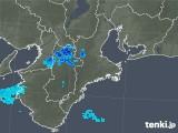 2018年12月20日の三重県の雨雲の動き