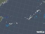 2018年12月21日の沖縄地方の雨雲の動き