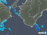 2018年12月21日の和歌山県の雨雲の動き