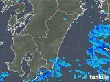 2018年12月21日の宮崎県の雨雲の動き