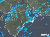 2018年12月22日の三重県の雨雲の動き