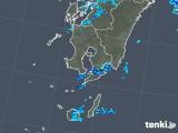 2018年12月23日の鹿児島県の雨雲の動き