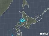 2018年12月25日の北海道地方の雨雲の動き
