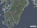 2018年12月27日の宮崎県の雨雲の動き