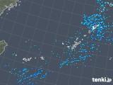 2018年12月28日の沖縄地方の雨雲の動き