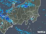 2018年12月29日の関東・甲信地方の雨雲の動き