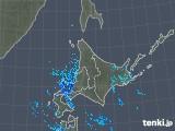 2018年12月30日の北海道地方の雨雲の動き