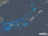 2018年12月31日の沖縄地方の雨雲レーダー