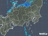 2018年12月31日の関東・甲信地方の雨雲の動き