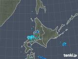 2019年01月01日の北海道地方の雨雲の動き