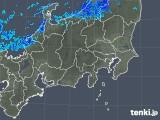 2019年01月01日の関東・甲信地方の雨雲の動き