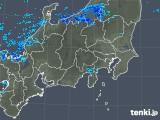 2019年01月02日の関東・甲信地方の雨雲の動き