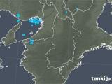 2019年01月02日の奈良県の雨雲レーダー