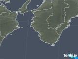 2019年01月05日の和歌山県の雨雲の動き