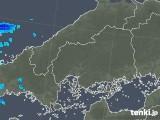 2019年01月06日の広島県の雨雲の動き