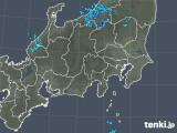 2019年01月09日の関東・甲信地方の雨雲の動き