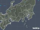 2019年01月11日の関東・甲信地方の雨雲の動き
