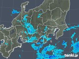 2019年01月12日の関東・甲信地方の雨雲の動き