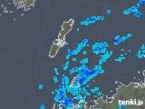 2019年01月13日の長崎県(壱岐・対馬)の雨雲の動き