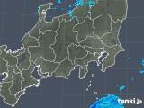 2019年01月14日の関東・甲信地方の雨雲の動き