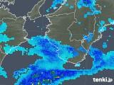 2019年01月15日の和歌山県の雨雲の動き
