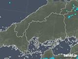 2019年01月15日の広島県の雨雲の動き