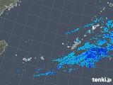 2019年01月17日の沖縄地方の雨雲レーダー