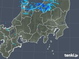 2019年01月18日の関東・甲信地方の雨雲の動き