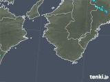 2019年01月18日の和歌山県の雨雲の動き