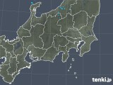 2019年01月19日の関東・甲信地方の雨雲の動き