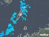 2019年01月19日の長崎県(壱岐・対馬)の雨雲の動き