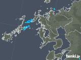 2019年01月22日の長崎県の雨雲の動き