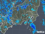 2019年01月26日の関東・甲信地方の雨雲の動き