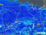 2019年01月31日の兵庫県の雨雲の動き