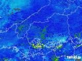 2019年01月31日の広島県の雨雲の動き