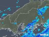 2019年02月19日の広島県の雨雲の動き