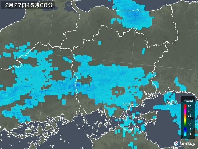 岡山 雨雲 レーダー