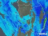 2019年03月11日の秋田県の雨雲レーダー