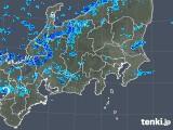 2019年03月31日の関東・甲信地方の雨雲の動き