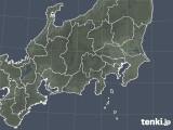 2019年04月04日の関東・甲信地方の雨雲の動き