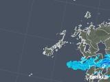 2019年04月05日の長崎県(五島列島)の雨雲の動き
