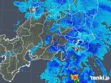 2019年04月10日の関東・甲信地方の雨雲の動き
