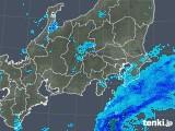 2019年04月12日の関東・甲信地方の雨雲の動き