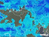 2019年04月14日の滋賀県の雨雲レーダー