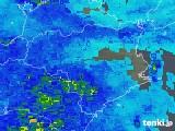 2019年04月14日の徳島県の雨雲の動き