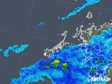 2019年04月14日の長崎県(五島列島)の雨雲の動き