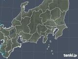 2019年04月16日の関東・甲信地方の雨雲の動き